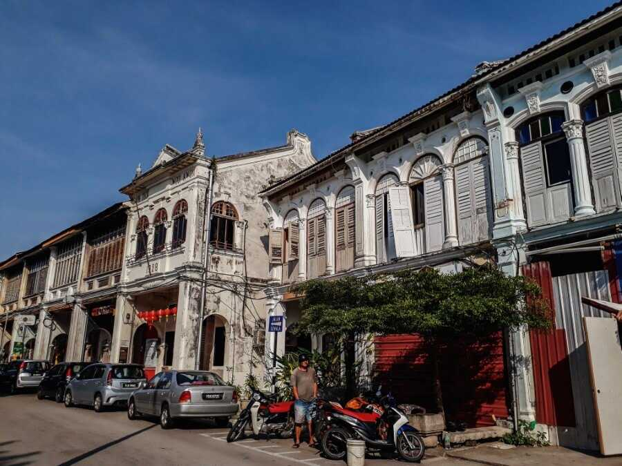 Georgetown Penang old buildings