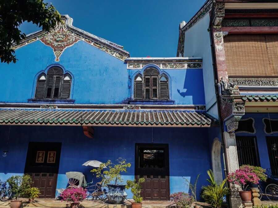 Cheong Fatt Tze Mansion (Blue Mansion) Penang itinerary for 3 days