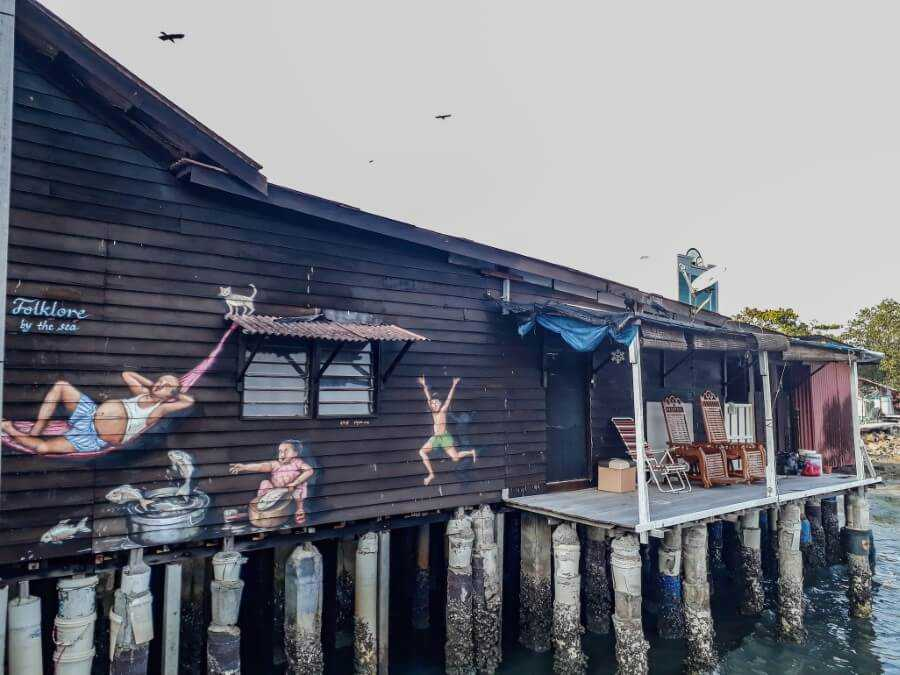street arts at the chew jetty
