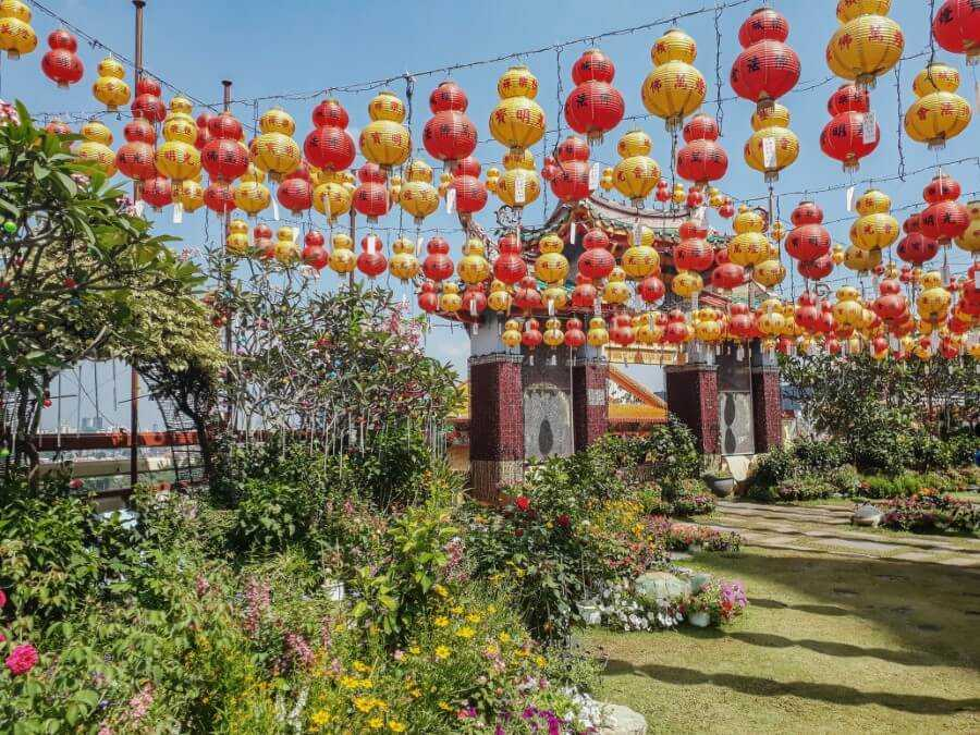 Kek Lok Si Temple garden Penang itinerary for 3 days