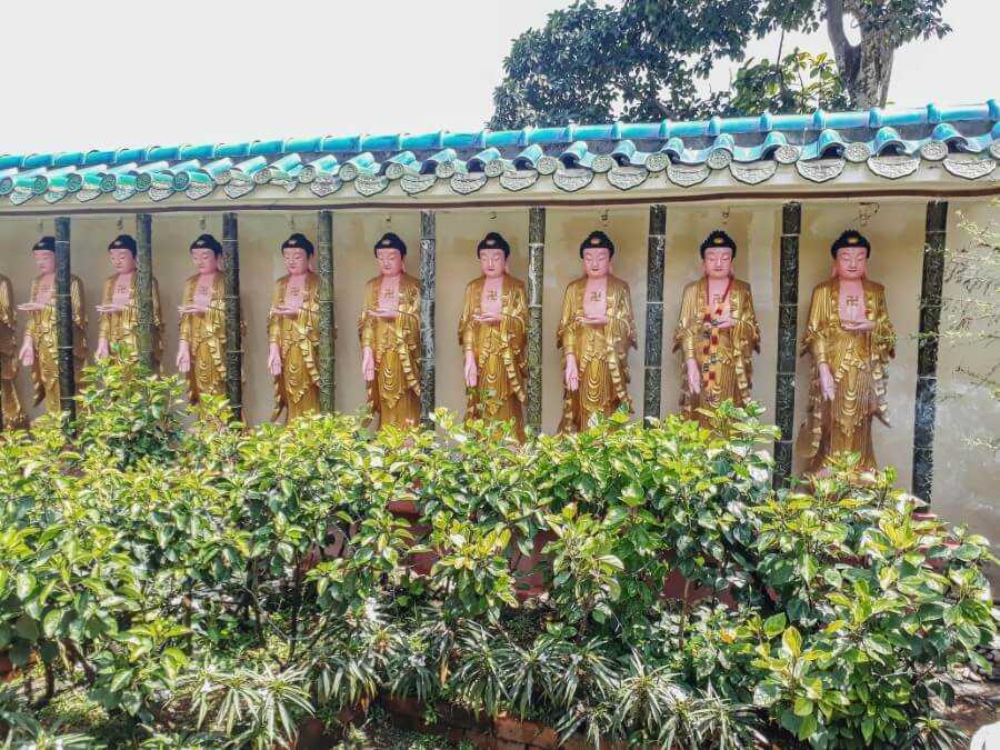 buddha statues kek lok si temple penang