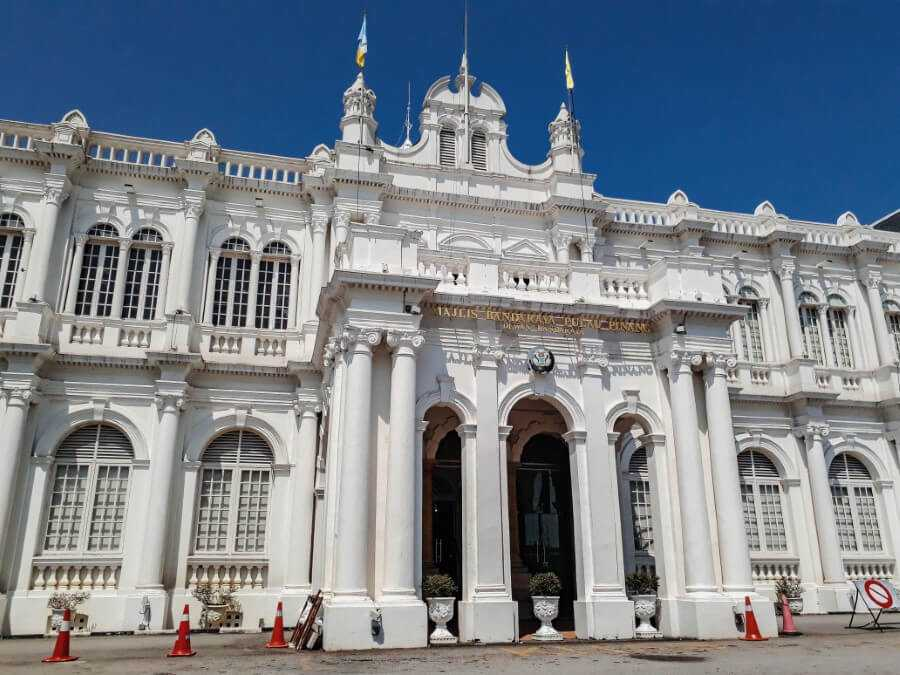 City hall Penang