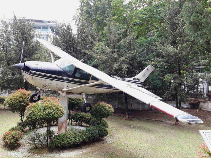 Cessna Aircraft at Royal Malaysian Police Museum KL