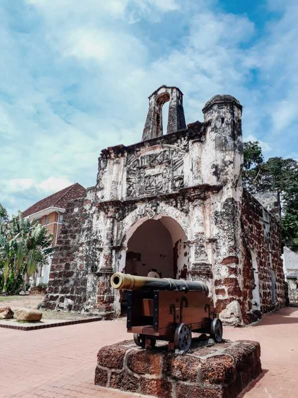 Porta de Santiago things to do in Melaka Malaysia