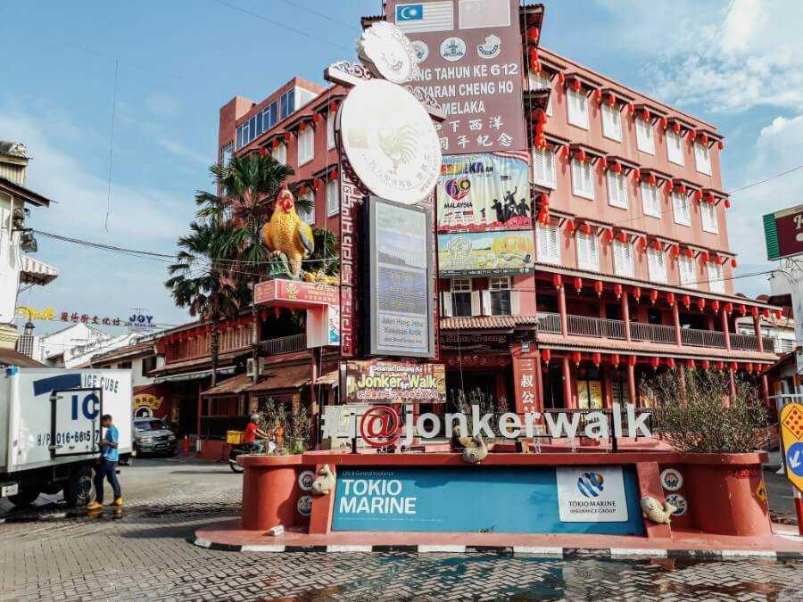 Jonker Street - Melaka's Chinatown