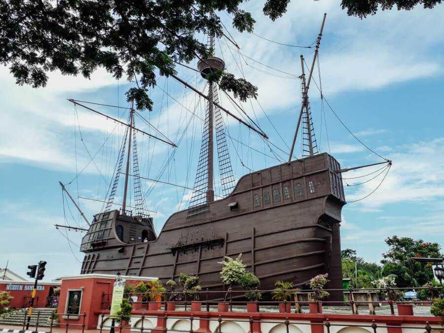 Maritime and Naval Museum Melaka Malaysia