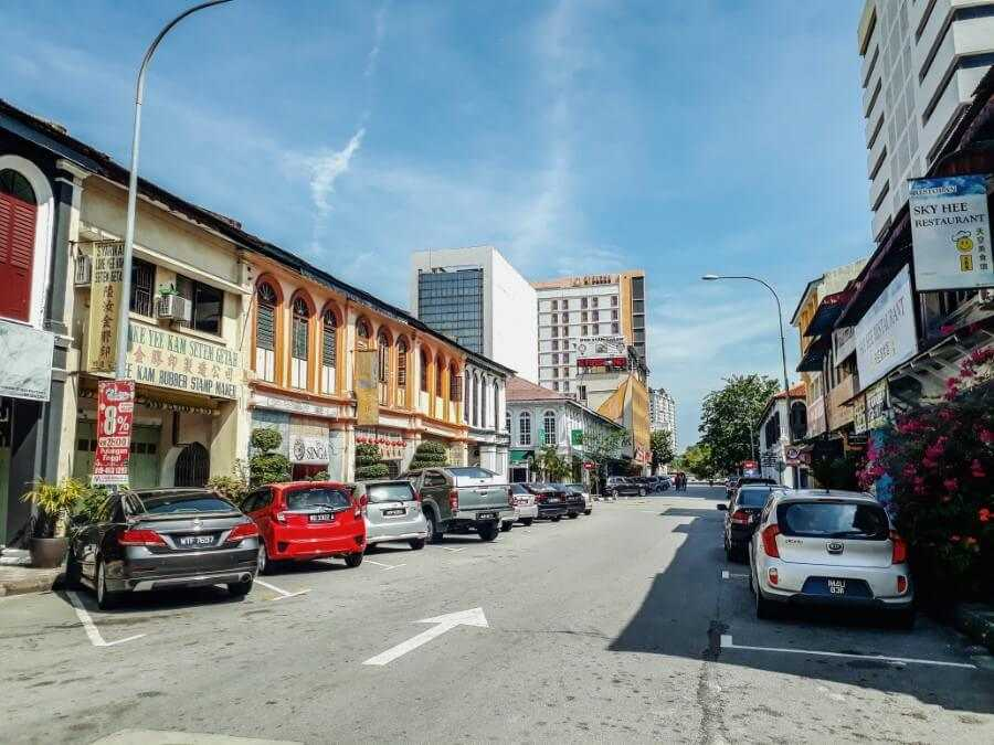 streets of Ipoh old town