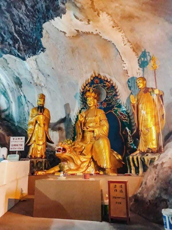 Buddha statues perak temple ipoh malaysia