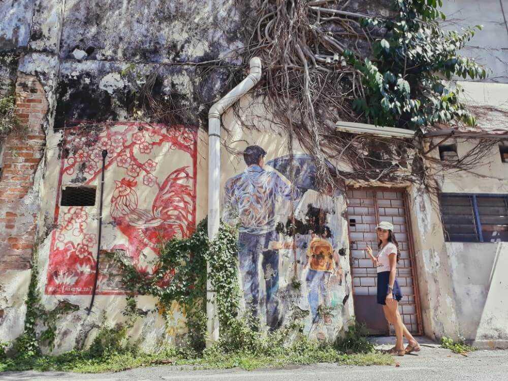 mural lane ipoh malaysia