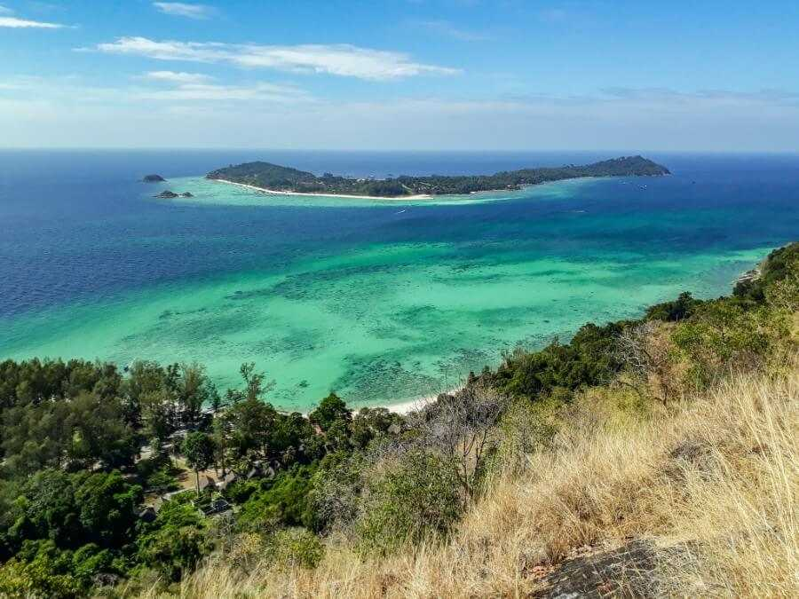 View of Koh Lipe from Koh Adang viewpoint is a must-do during your 10-day Thailand itinerary