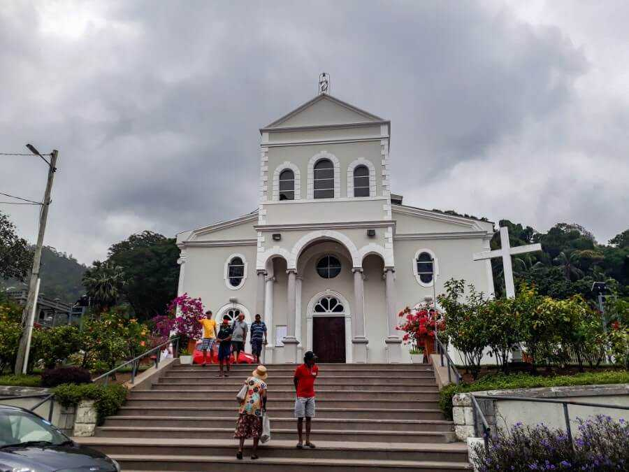 Immaculate Conception Cathedral Seychelles
