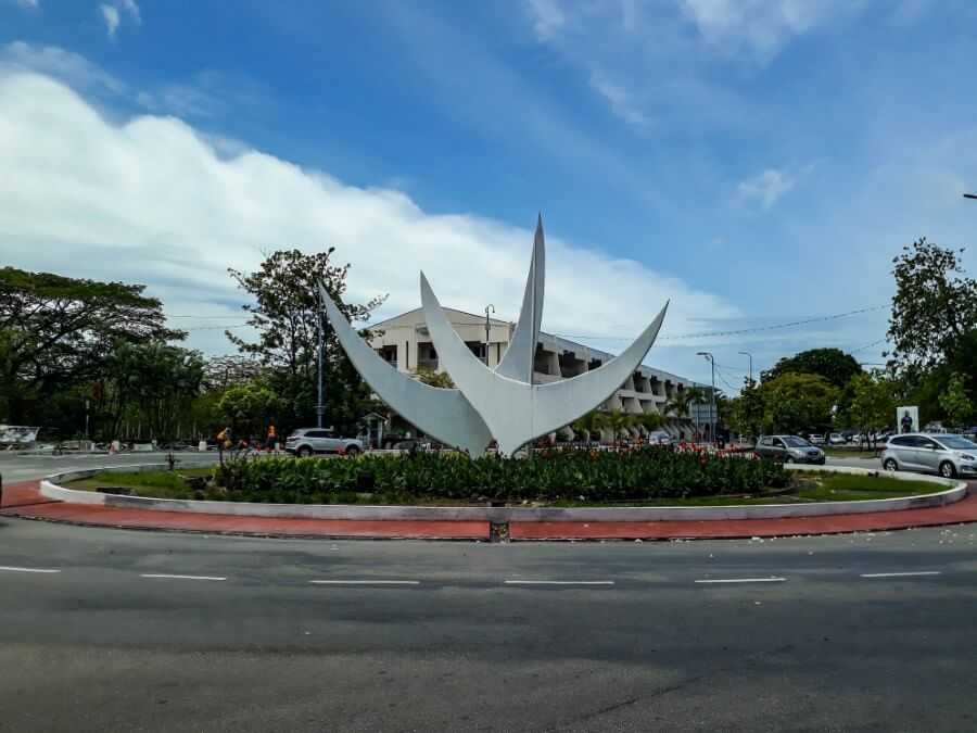 Bicentennial monument Seychelles
