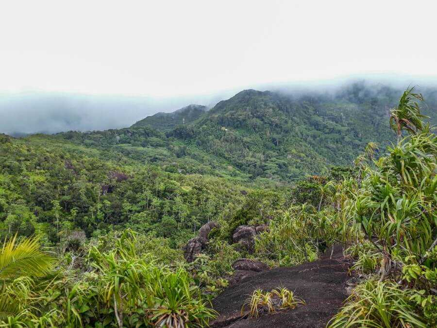 Mountain views - Copolia Trail things to do in Seychelles