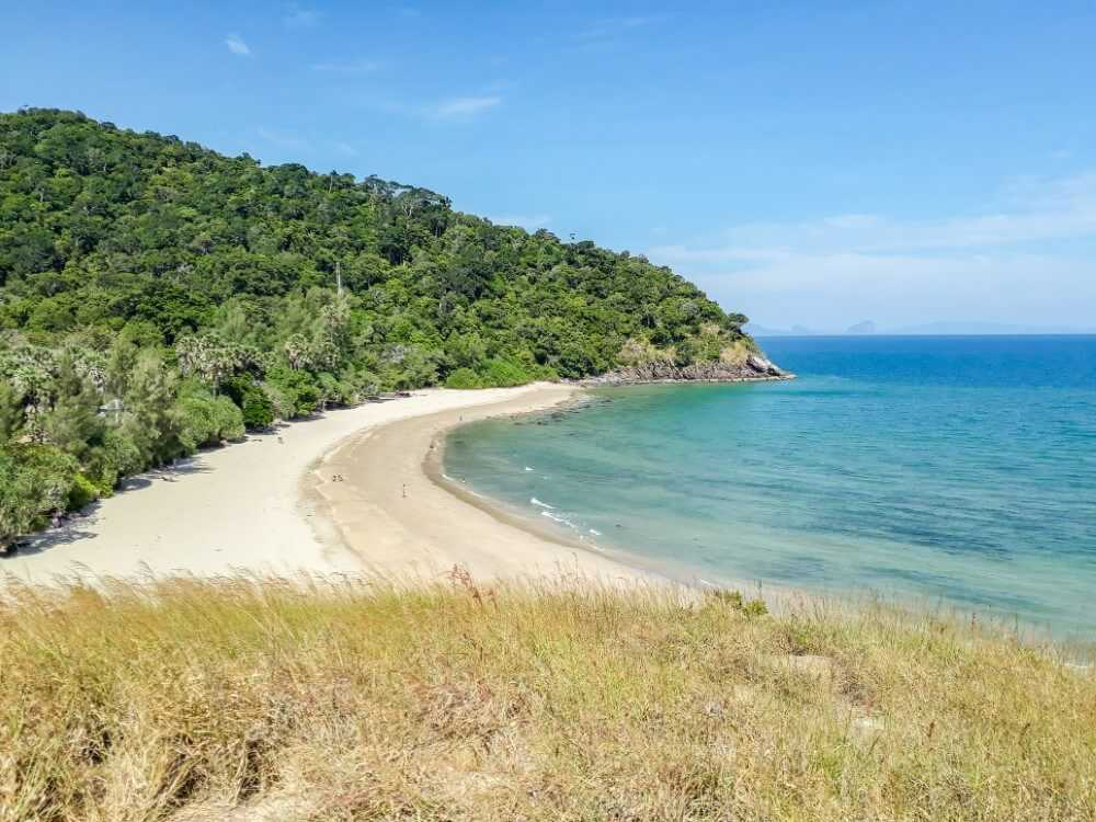 The beach at Koh Lanta National Park