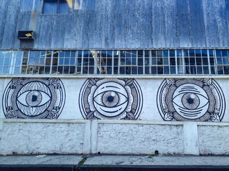 eyes murals in mauritius street art