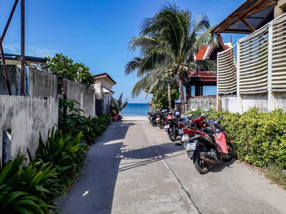 Renting a motorbike is very cheap in Asia and help to cut cost from your trip budget