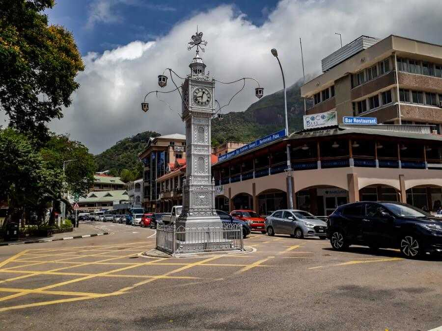 Seychelles Victoria Clocktower things to do in Seychelles on a budget