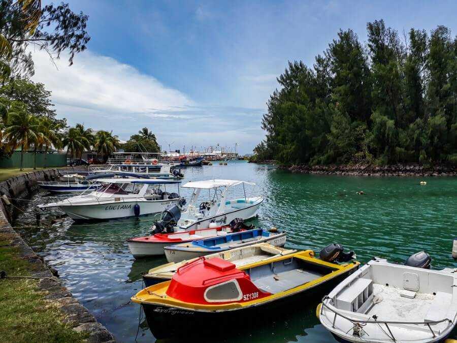 Victoria Harbor Seychelles