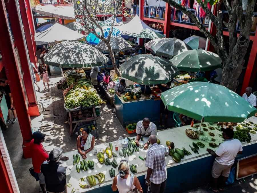 Victoria market things to do in Seychelles