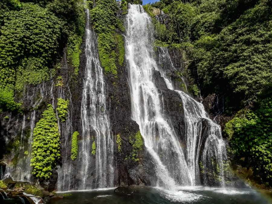 Banyuwala Twin waterfalls Bali