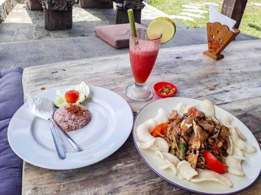 Gado Gado at Joglo Organik restaurant