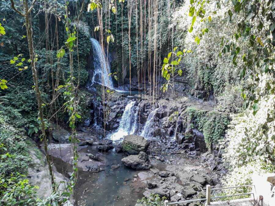Pengibul waterfall is a great option when spending 3 days in Ubud