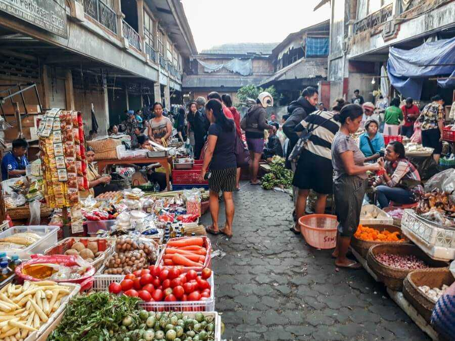 A visit the Wet Market should be added to your 3-day Ubud itinerary