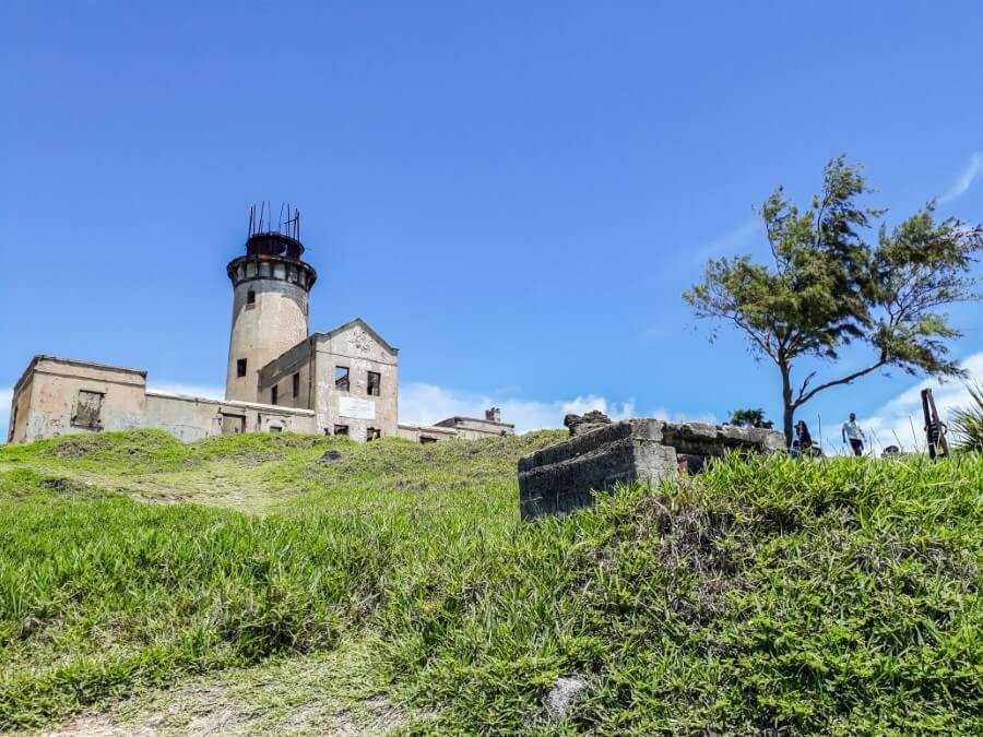 Lighthouse on Ile aux Fouquets National Park