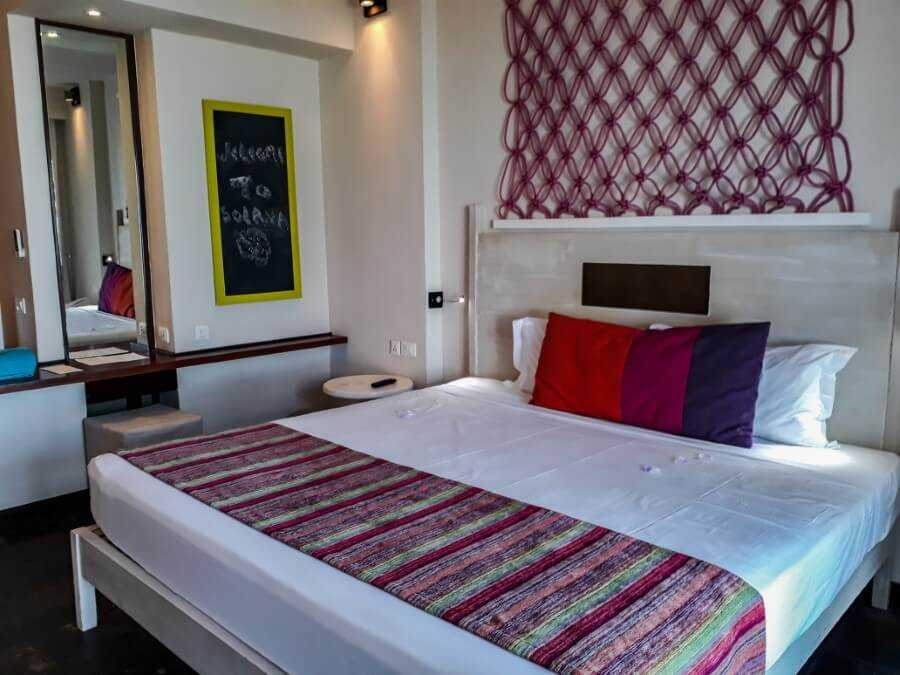 Seaview double room at Solana Beach Hotel Mauritius