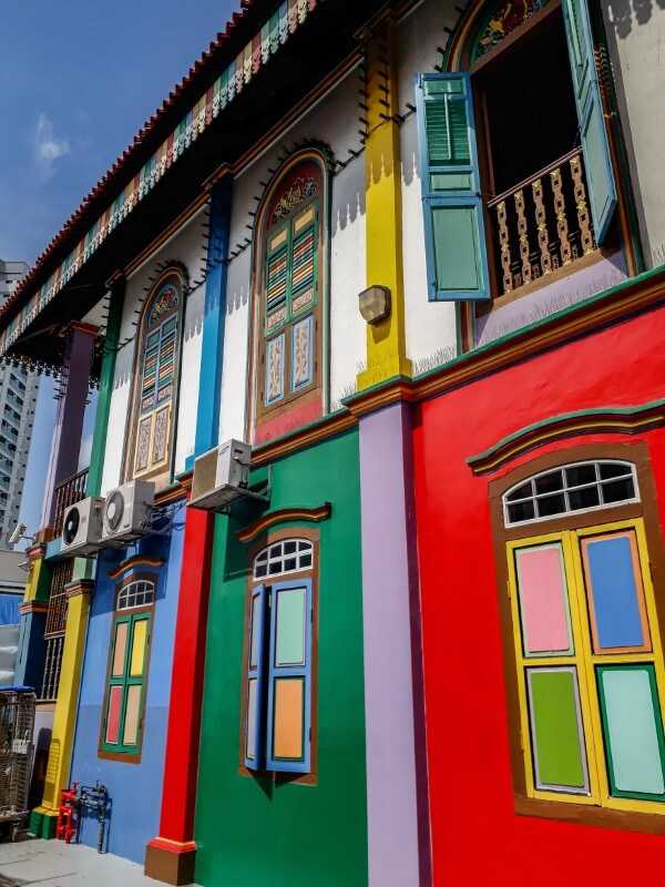 Tan Teng Niah House in Little India is Singapore's most colorful instagram spot
