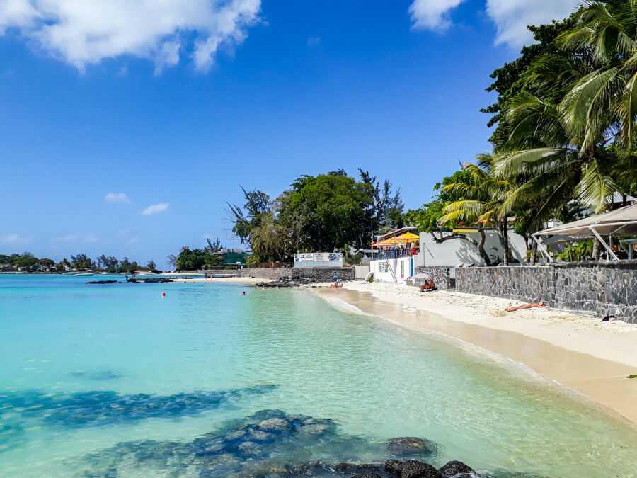 Pereybere Beach in Mauritius