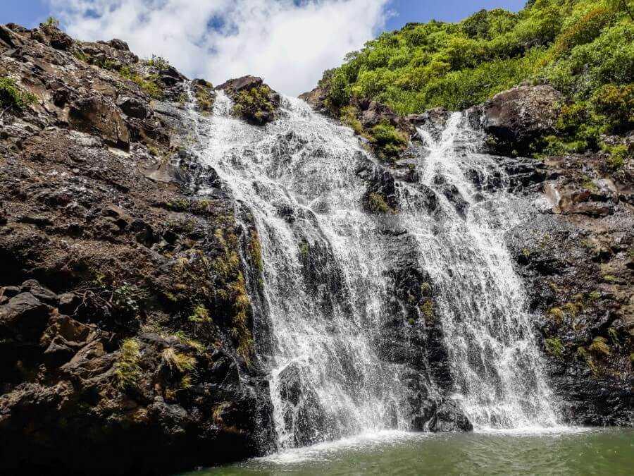 The 3rd waterfall at Tamarind Falls