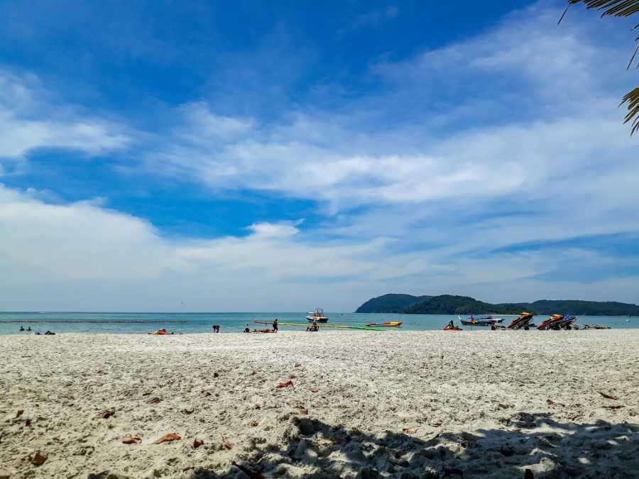 Cenang beach in Langkawi