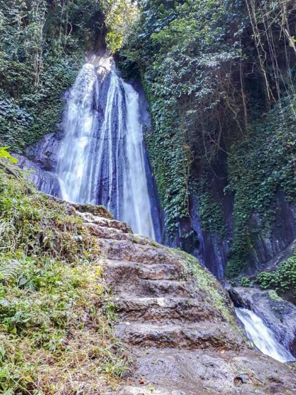 The majestic Dusun Kuning Waterfall in Bali