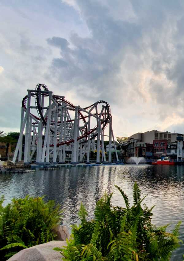 Thrilling rides at Universal Studios Singapore