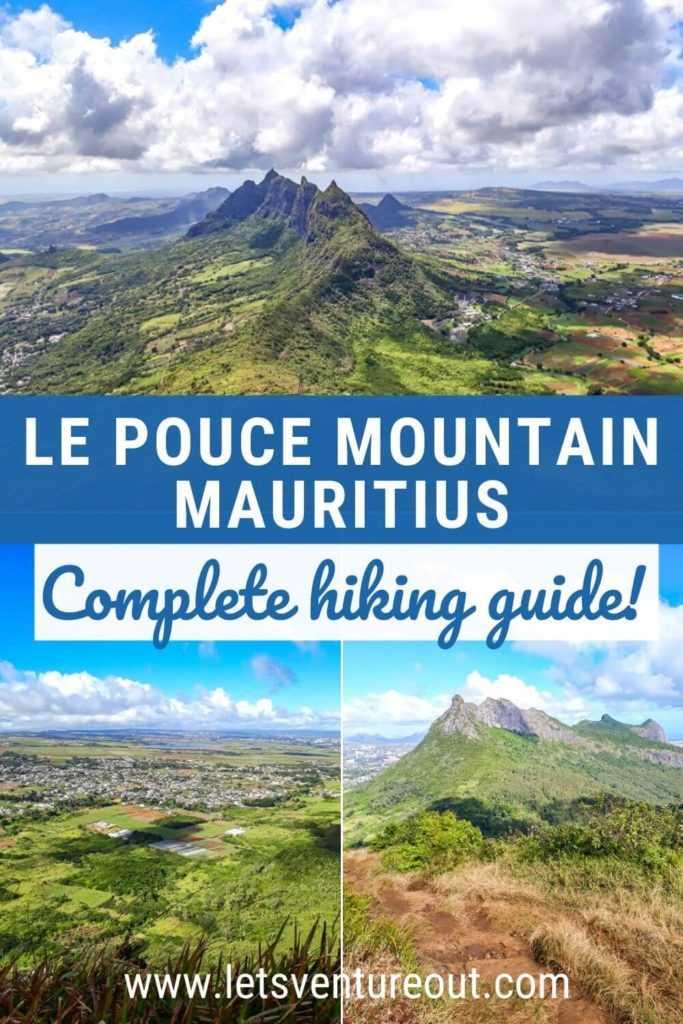 Le Pouce Mountain hiking guide