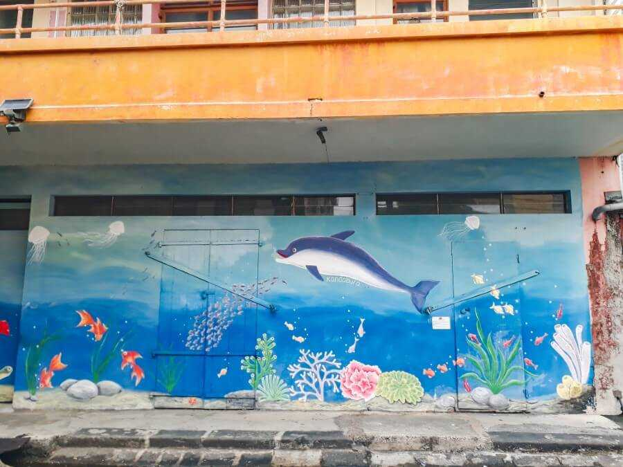 Dolphin Street art