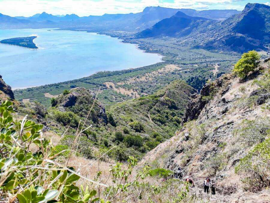 Le Morne Brabant: hiking in Mauritius