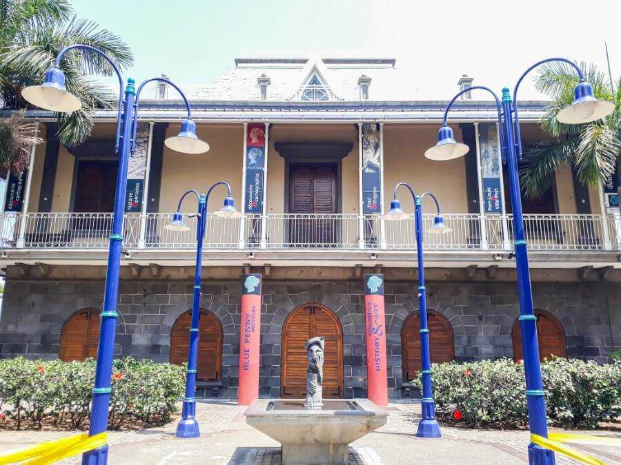 Blue Penny Museum building