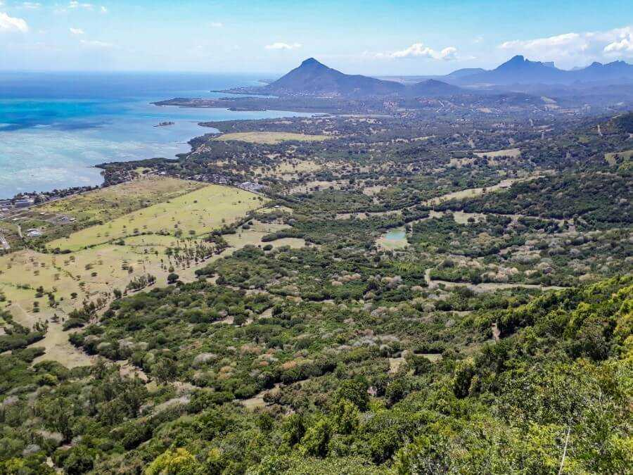 Sublime viewpoint at Ebony Forest an easy hike in Mauritius