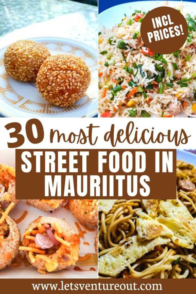 30 best street food in Mauritius