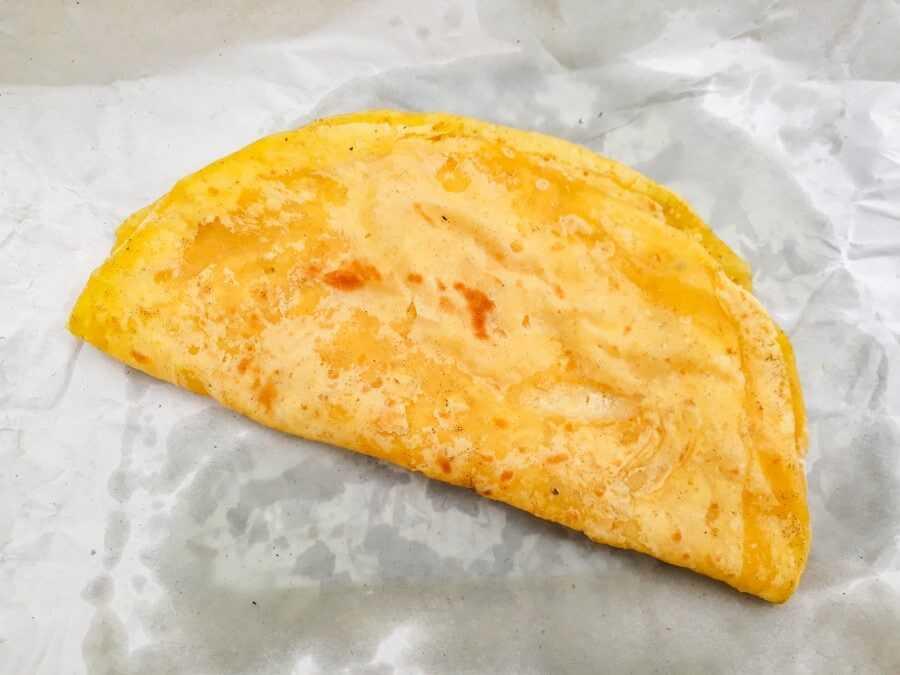 Dholl Puri - flatbread stuffed with yellow split peas