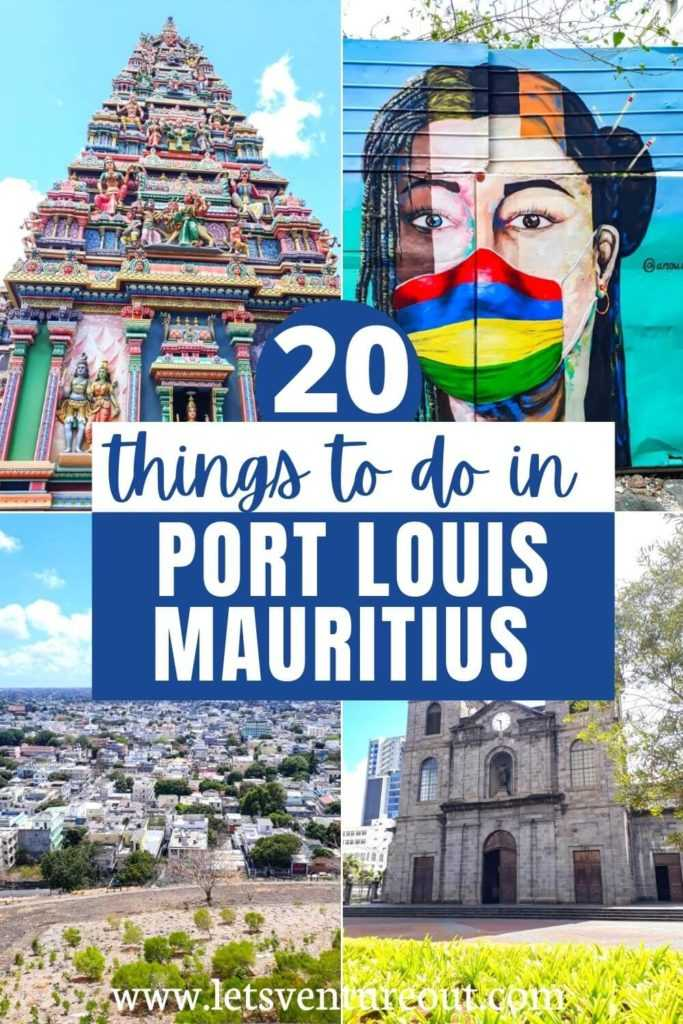 20 things to do in Port Louis Mauritius