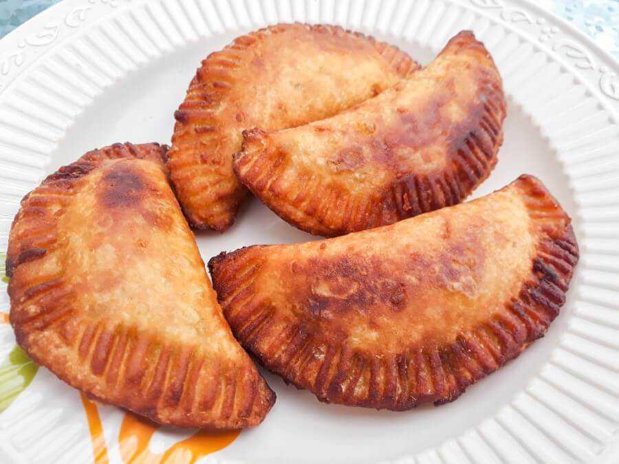 Deep fried sweet potato fritters