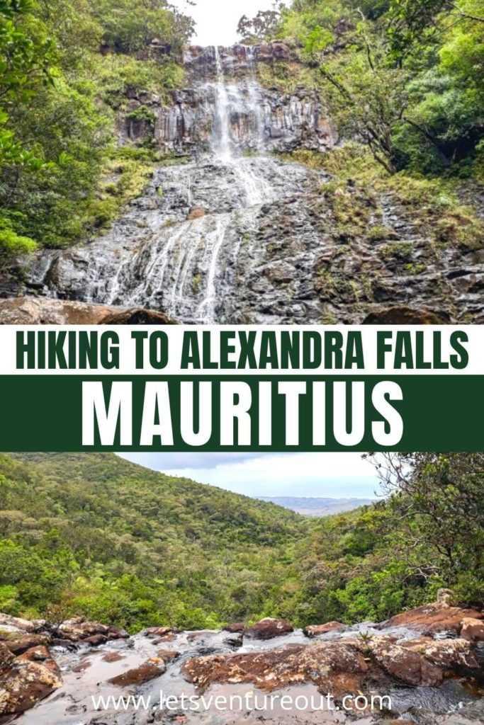 Hiking to Alexandra Falls Mauritius