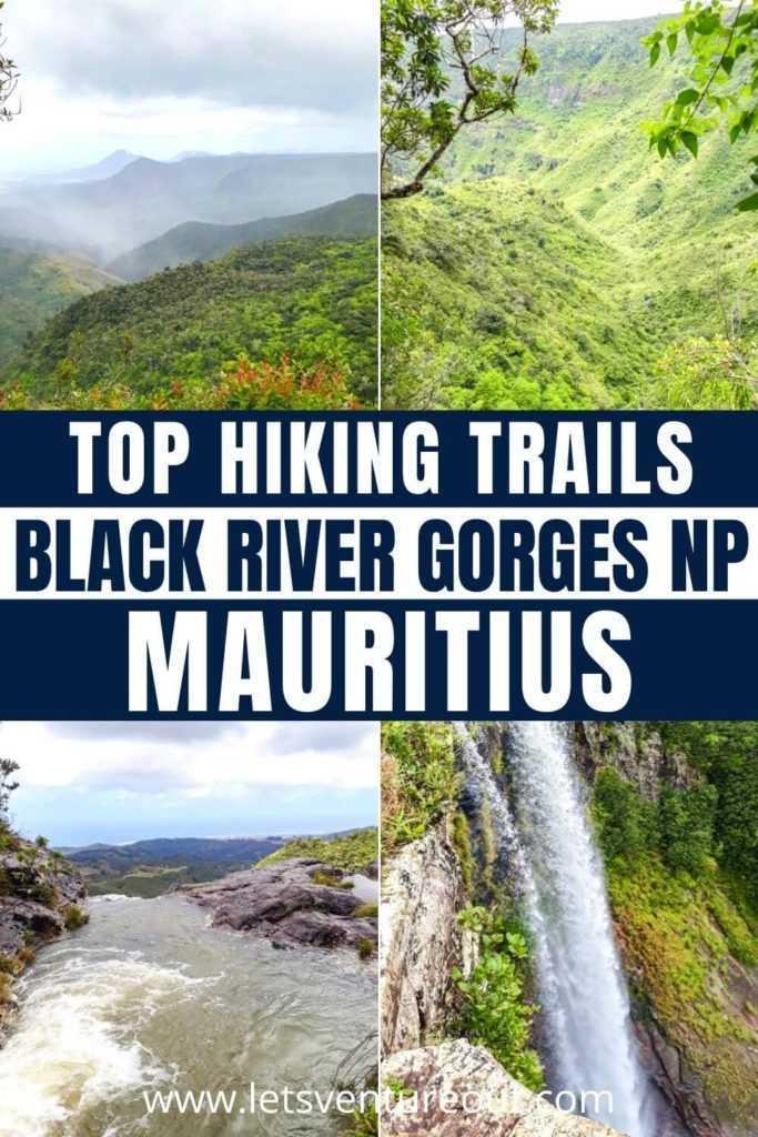 Hiking trails Black River Gorges National Park Mauritius