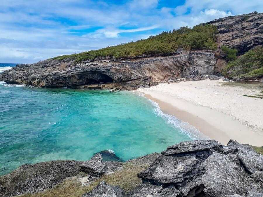 Anse Philibert in Rodrigues Island