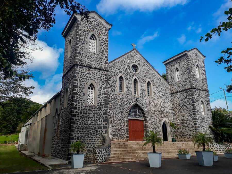 Stone Church in Rodrigues