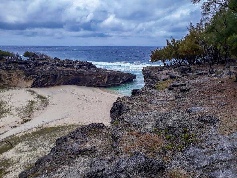 Trou D'Argent beach is one of the most popular place to visit in Rodrigues
