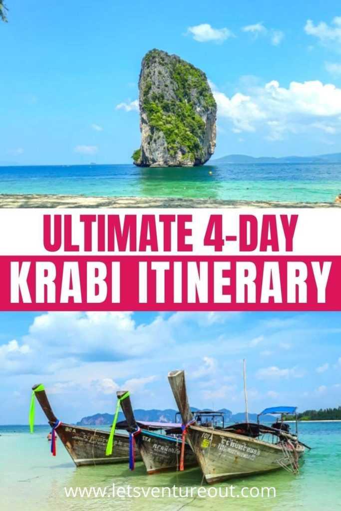 Ultimate 4 day Krabi Itinerary